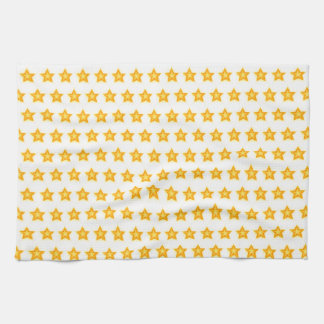 bright stars tea kitchen towel