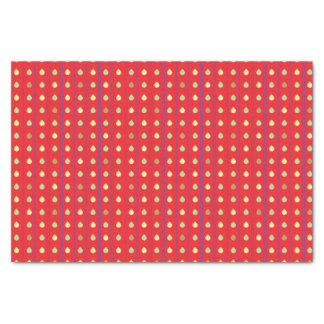 Bright Strawberry Seeds Pattern Tissue Paper