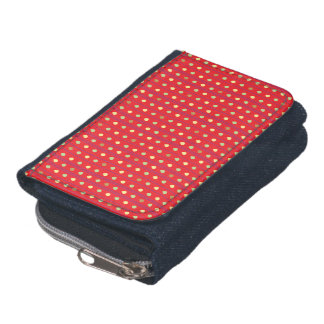 Bright Strawberry Seeds Pattern Wallet