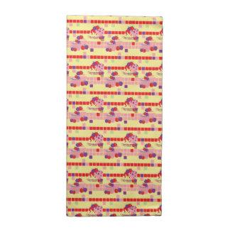 Bright Strawberry Sweet Treats Pattern Napkin