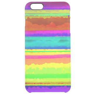 Bright Stripe Clear iPhone 6 Plus Case