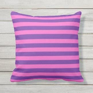 Bright Stripe Vintage Design Outdoor Pillow