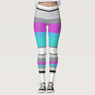 Bright Stripes Leggings