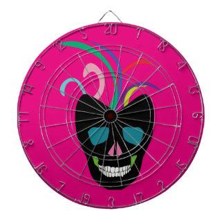 Bright Sugar Skull Dart Board