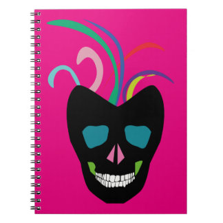 Bright Sugar Skull Notebooks