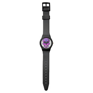Bright Sugar Skull Watch