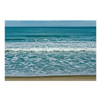 Bright Sun and Gliding Waves Photo Print