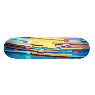 Bright Sun Art Design Skateboard