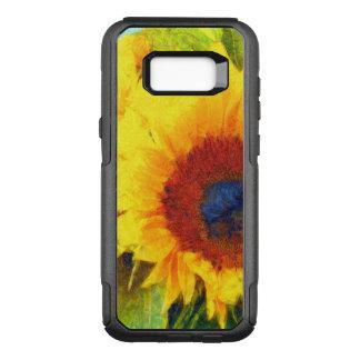 Bright Sunflower Art OtterBox Commuter Samsung Galaxy S8+ Case