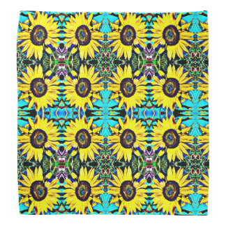 Bright Sunny Sunflower Bandanna | Country