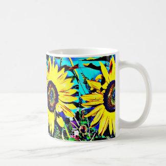Bright Sunny Sunflower Coffee Mug