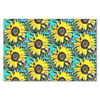 Bright Sunny Sunflower Tissue Paper | Flower Photo