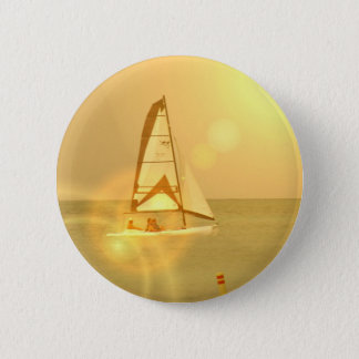 Bright Sunset Sail Button