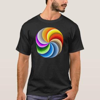 Bright swirl T-Shirt