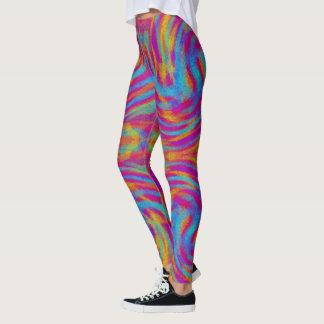 Bright Swirls Leggings