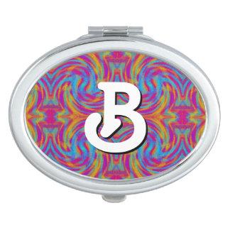 Bright Swirls Mirror For Makeup