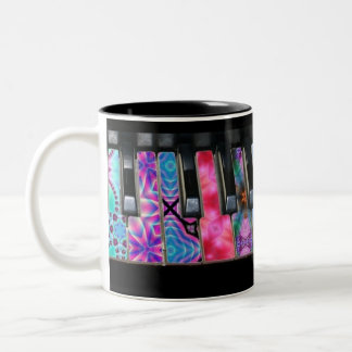 Bright Symphony of Color Two-Tone Coffee Mug