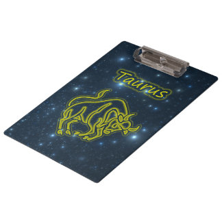 Bright Taurus Clipboard