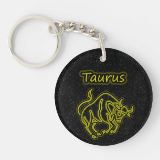 Bright Taurus Keychain