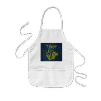 Bright Taurus Kids Apron