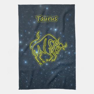 Bright Taurus Kitchen Towel
