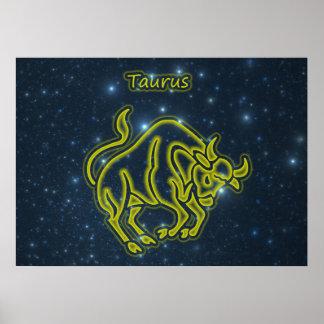 Bright Taurus Poster