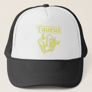 Bright Taurus Trucker Hat