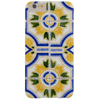 Bright tile pattern, Portugal Barely There iPhone 6 Plus Case