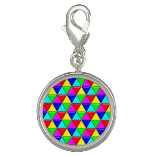 Bright triangles photo charm