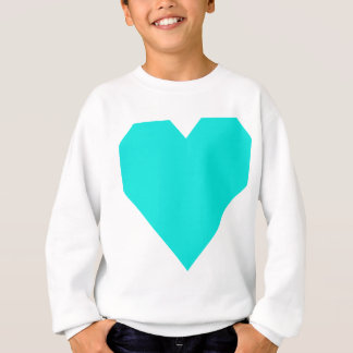 Bright Turquoise GH.png Sweatshirt