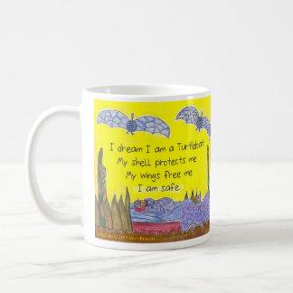 Bright turtlebats Poem mug