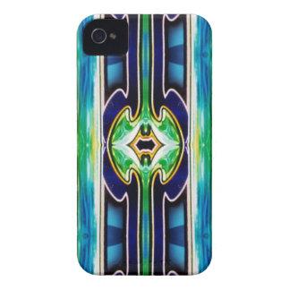 Bright Unique Tribal Pattern iPhone 4 Cases