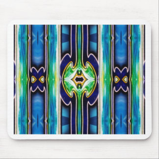 Bright Unique Tribal Pattern Mouse Pad