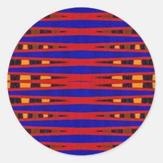 Bright Vibes Round Sticker