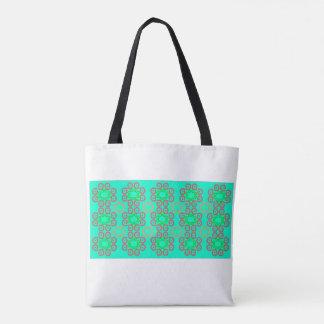 Bright wallpaper theme tote bag