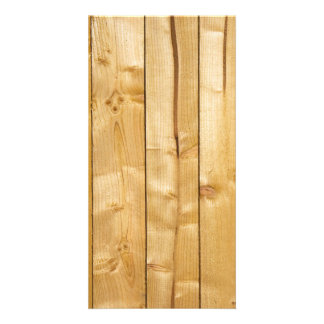 Bright Wood Background Photo Greeting Card