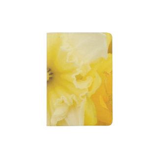 Bright Yellow Daffodils Passport Case Passport Holder