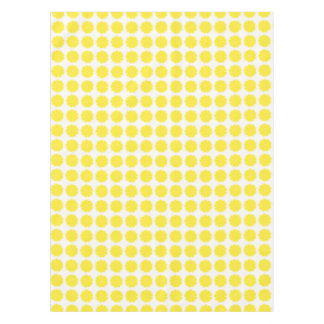 Bright Yellow Lemon Citrus Fruit Slice Tablecloth