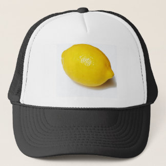 Bright Yellow Lemon Trucker Hat