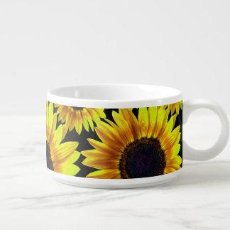 Bright Yellow Sunflower Bowl