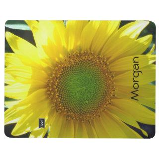 Bright Yellow Sunflower Journal