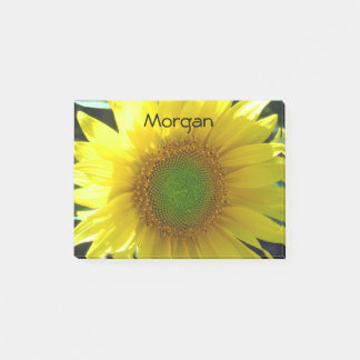 Bright Yellow Sunflower Post-it® Notes