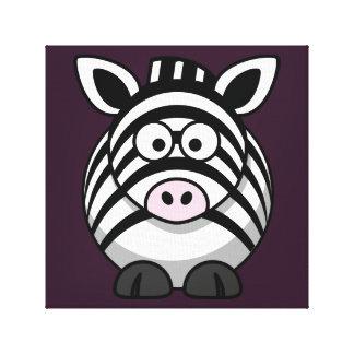 Bright Zebra Print