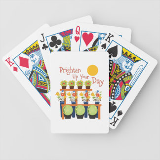 Brighten Your Day Bicycle Playing Cards