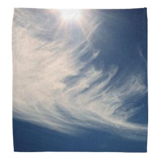 Brighten your Day!  Luminous Sun and Clouds Bandana