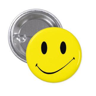 Brighten Your Day ~ Vintage Retro Smiley Face 1 Inch Round Button
