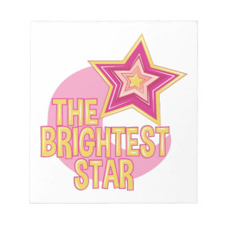 Brightest Star Notepads