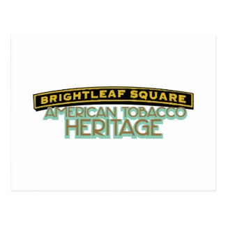 Brightleaf Square Tobacco Postcard