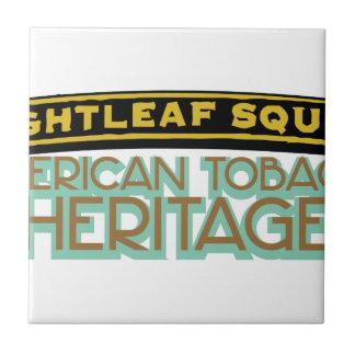 Brightleaf Square Tobacco Tile