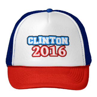 Brightly Colored Hillary Clinton 2016 Trucker Hat